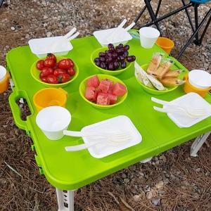 휴대용 접이식 테이블 풀세트
