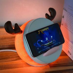 이노맥스 LED 블루투스 무선충전스피커